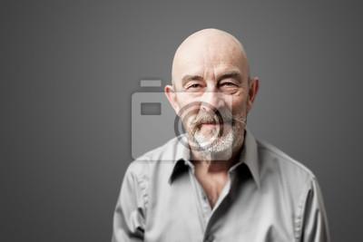 Fototapeta starszy mężczyzna z brodą