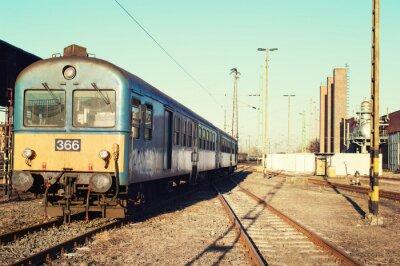 Fototapeta Stary dworzec kolejowy