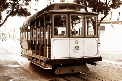 Fototapeta Stary tramwaj