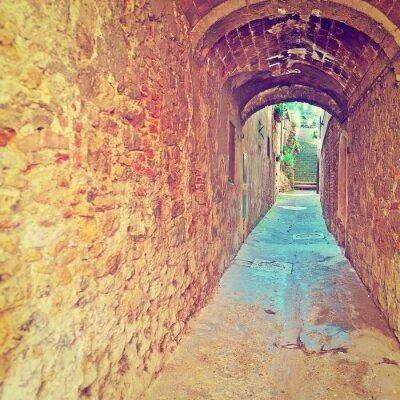 Fototapeta Stary tunel