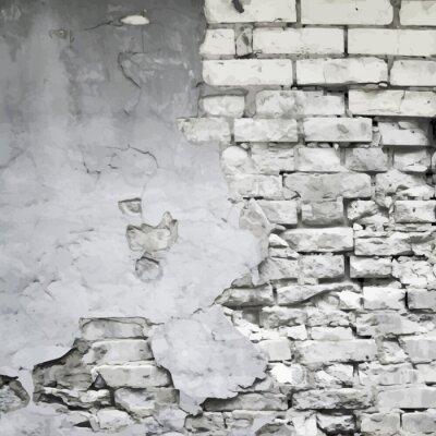 Fototapeta stary zniszczony mur wektorowe