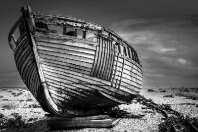 Fototapeta Starych łodzi rybackich.