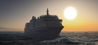 Fototapeta Statek wycieczkowy