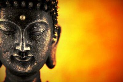 Fototapeta Statue de Buddhasur lubiący de lumiere