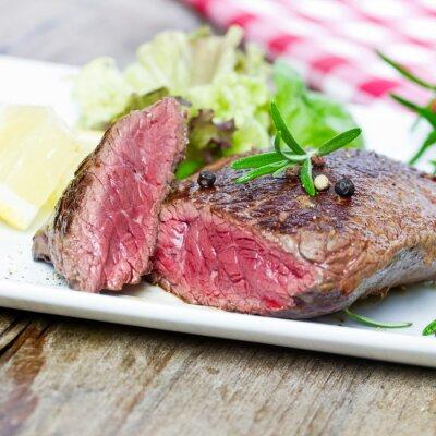 Fototapeta Steak blutiges