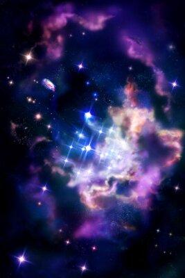 Fototapeta Stellar hodowlane - obłoku molekularnego, w którym proces gwiazdy