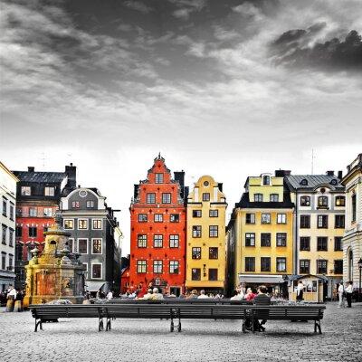 Fototapeta Stockholm, sercu Starego Miasta,