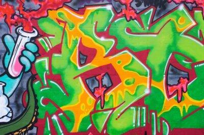 Fototapeta Street art na ścianie