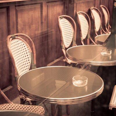 Fototapeta Street View z tarasem kawy