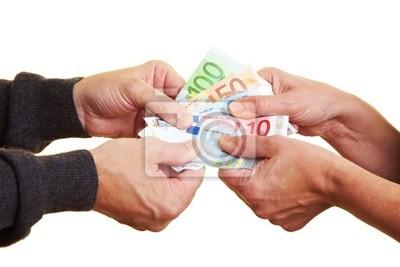 Streit um das Geld