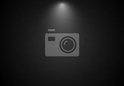 Fototapeta Streszczenie czarnym tle paski z reflektorem, Vector