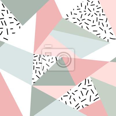 Streszczenie geometryczny wzór lub t? O. Skandynawski styl. Plakat, karta, tekstylia, szablon tapety.