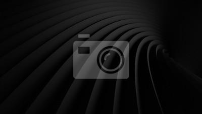 Fototapeta streszczenie ilustracji. luksusowy czarny linia tło