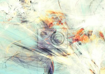 Streszczenie kolor dynamiczne t? Oz efektem o? Wietlenia. Futurystyczny miękki obraz do kreatywności projektowania graficznego. Błyszczący wzór na tapetę, plakat, okładkę, ulotkę, sztandar. Sztuka fra