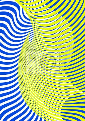Streszczenie kolor nowoczesnej linii futurystycznym tle. Minimalny układ okładki dla ulotki firmowej, biznesowej, broszury, broszury, plakatu, bannera, ulotki. Wektor