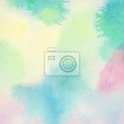 Streszczenie kolorowe tło akwarela