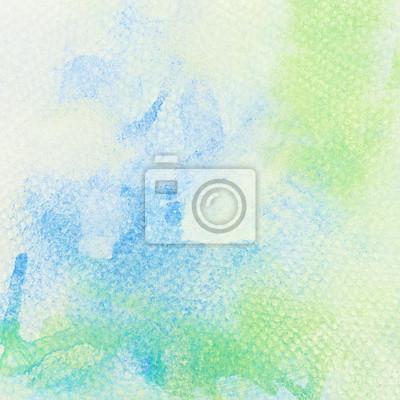Streszczenie kolorowe tło akwarela malowane na papierze ziarniste