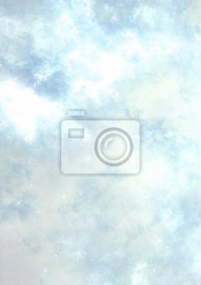 Streszczenie niebieskie chmury. Fantasy miękkie barwny wzór. Piękne tła. Fractal grafika dla kreatywnego projektowania graficznego.