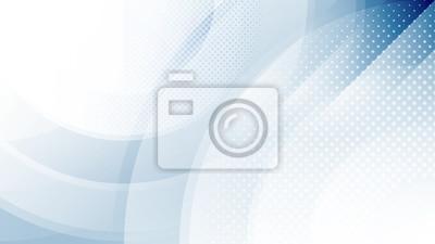 Fototapeta Streszczenie niebieskie światło i cień kreatywne tło. Ilustracji wektorowych.