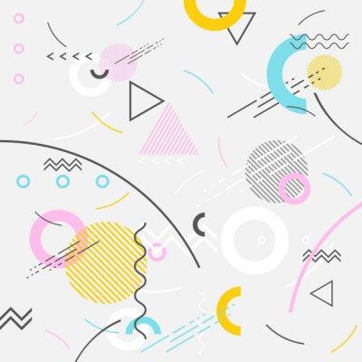 Fototapeta Streszczenie nowoczesne tło geometryczne