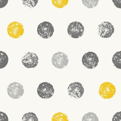 Fototapeta Streszczenie okrągłe kształty bez szwu deseń