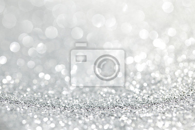 Fototapeta Streszczenie srebrnym tle