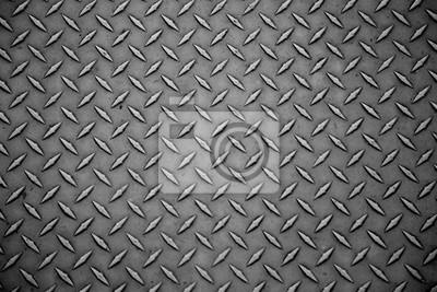 Fototapeta Streszczenie szarej stali panelu tekstury bliska