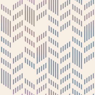 Fototapeta Streszczenie szwu geometryczny wzór wektor Chevron. Mesh backgro