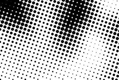 Czarno białe kropki