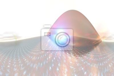 Fototapeta Streszczenie tle z wzorca współczesny fale