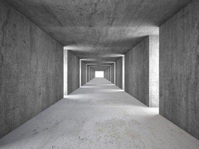 Fototapeta streszczenie tunelu