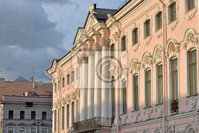 Fototapeta Stroganov palace in Saint Petersburg.