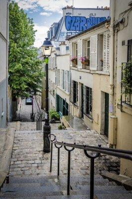 Fototapeta Strome Schody w Paryżu