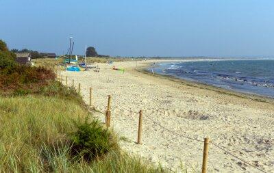 Fototapeta Studland pagórek plaża Dorset Anglia UK pobliżu Poole