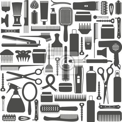 Stylizacja włosów związane wektor szwu tła 4