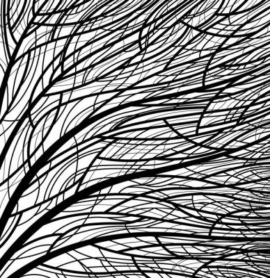 Fototapeta Stylizowane na wzór drzewa. eps8 wektor