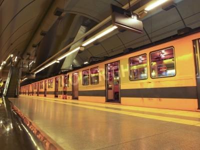 Fototapeta Subway zatrzymany