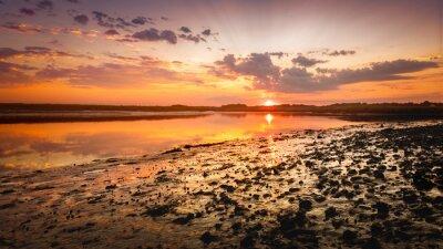 Fototapeta Sun Malowane Shore Redeux