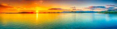 Fototapeta Sunset panorama