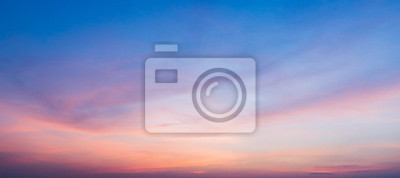 Fototapeta sunset sky with clouds background