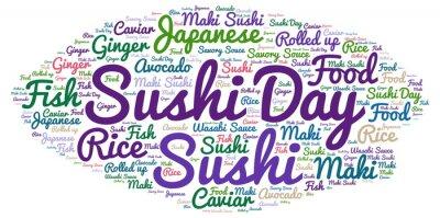 Fototapeta Sushi Day