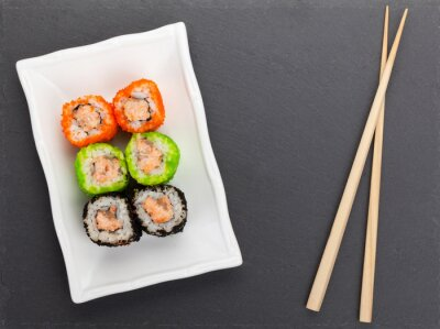 Fototapeta Sushi maki