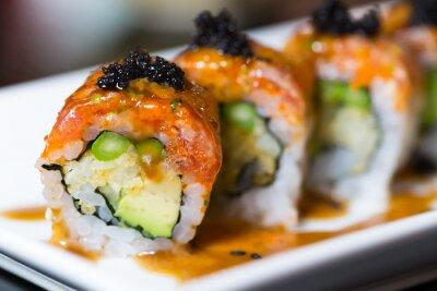 Fototapeta Sushi rolki