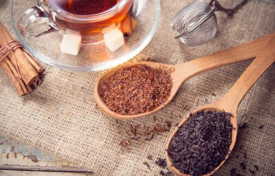 Fototapeta suszone herbata