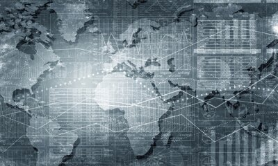 Fototapeta Świat połączenie map