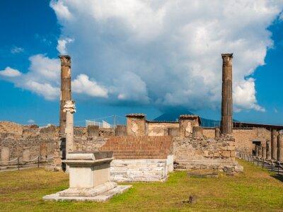Fototapeta Świątynia Apolla w Pompejach