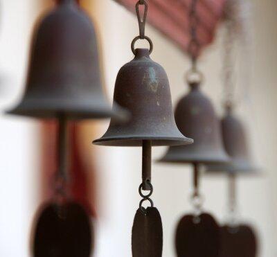 Fototapeta świątynia dzwony