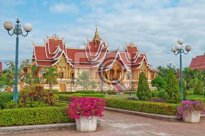 Świątynia. Wientian. Laos