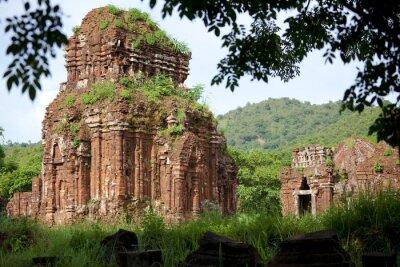 Fototapeta Świątynie Chams, Terre Sainte de My Son, Wietnam