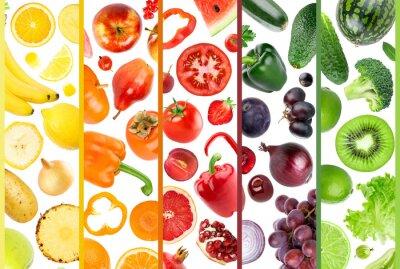 Fototapeta Świeże owoce i warzywa